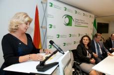 Blanca Fernández, presidenta del COOOA.