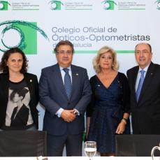 Francisca Díaz, Juan Ignacio Zoido, Blanca Fernández y Juan Carlos Martínez Moral