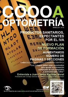 Portada COOOA Optometría Marzo