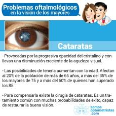 Problemas oftalmológicos cataratas