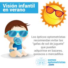 Visión infantil en verano