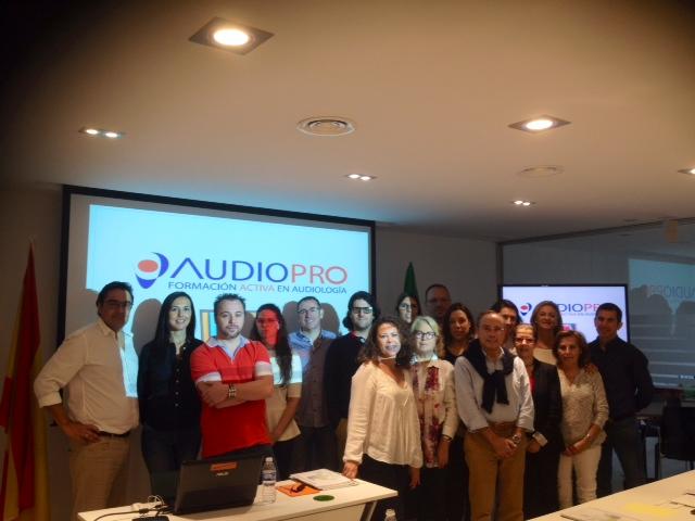 Curso Audiología Audiopro CURSO SEVILLA 24-25 OCTUBRE 2015