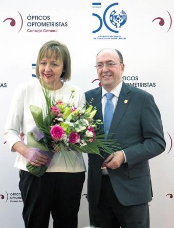 Juan Carlos y María Asunción Amat